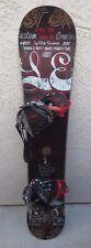 Ride DH2 L.E. Custom Creations 4800-206 157 cm Snowboard with Bindings