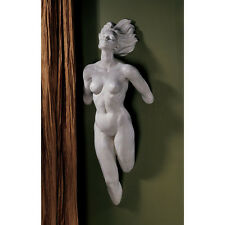 "24"" MODERN NUDE WOMAN WALL SCULPTURE STONE FINISH ART STATUE LOVE Female Form"