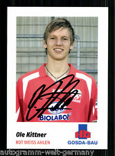 OLE Kittner ROSSO-BIANCO Ahlen 2007-08 Top AK +a50808