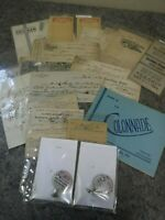 Large Lot of Antique Ephemera-Programs-Machine Shop-Leather-Receipts