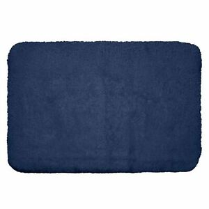 HOTEL PREMIER COLLECTION BATH RUG BY MEMBER'S MARK - NAVY