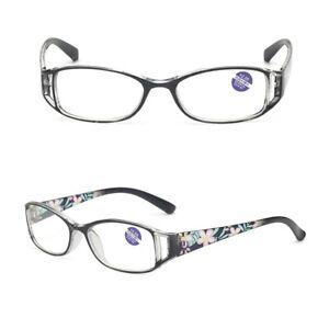 1.0~4.0 Women Fashion Readers 3 PACK / 3 Pairs Rectangular Reading Glasses B