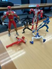 New listing Power Rangers figures mixed group of 6