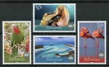 Bahamas 2019 MNH National Trust Parrots Flamingos Seashells 4v Set Birds Stamps