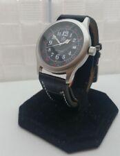 Relojes de pulsera con fecha automática de acero inoxidable plateado