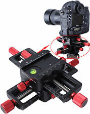 Macro Focusing Rail Slider Close-up Shooting Camera Support for Tripod Ball Head