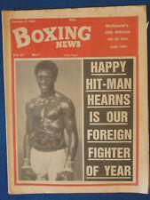 Boxing News Magazine - 2/1/81 - Thomas Hearns Cover