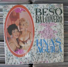 HERMANAS AGUILA CON LA ORQ.DE ANTONIO ESCOBAR BESO BALCONERO MEXICAN LP BOLERO