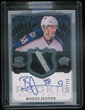 2013-14 UPPER DECK THE CUP BOONE JENNER AUTO JERSEY PATCH RC 166/249 #176