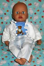 """New cute Teddy bear dolls outfit clothes baby boy annabell alive reborn 19"""" 20"""""""