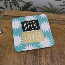Coaster BEER LOVER Square Deckchair from The Bright side Fun gift New
