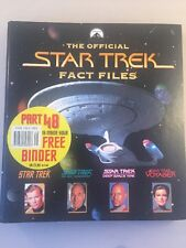 Collectable The Official Star Trek Fact Files No4 - star trek fact file 4