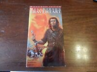 Braveheart (VHS, 1996, 2-Tape Set) MEL GIBSON Widescreen Version