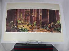 Kellerfund Star Wars Kunstdruck von Ralph McQuarrie, Nr.14,39x28 cm,verschweisst
