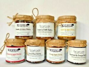 Artisan Chutneys Homemade in Small Batches, 200g Jars | The Lush Larder