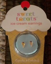 Sweet Treats Ice Cream Sugar Cone Earrings By Cupcakes & Cartwheels