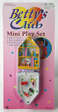 VERY RARE VINTAGE 90'S BETTYS CLUB WINTER VILLA PLAYSET POLLY POCKET NEW MOSC !