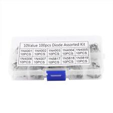 200 X 10 Gleichrichterdiode Schottky 1N4001-1N5819 Sortiment Kit set DE.