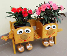 Portavasi A Scaletta In Legno : Portavasi da giardino decorativi in legno regali di natale