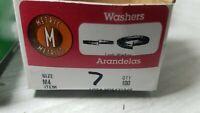 100 Lock Washers Metric M4