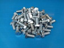 "50 Pack. 3/8 x 3/4"" BSF Bolts (Setscrews) High Tensile Steel, Bright Zinc Plated"