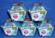 Lot of 5 Blind Box Season 2 Mattel Monster High Minis Surprise Figure NIP