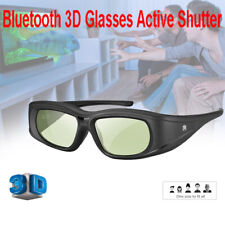 Elikliv Bluetooth Active Shutter 3D Glasses LCD Rechargeable For Projector Sony