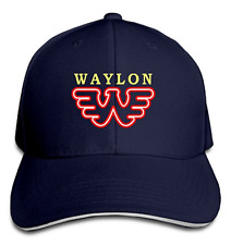 Waylon Jennings Flying Retro Buddy Holly Unisex Hats Visor Hats Bill Caps