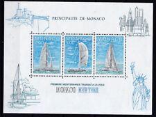 Monaco 1985 postfrisch MiNr. Block 30  Segelregatta Monaco-New York