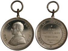 "Medaglia Medal Papa Leone Leo XIII "" Oleo Sancto Meo Unxi Eum "" #PL430"