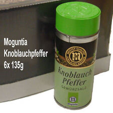 Moguntia Knoblauch Pfeffer Gewürzsalz 6x 135g Gewürz für Kenner und Profis