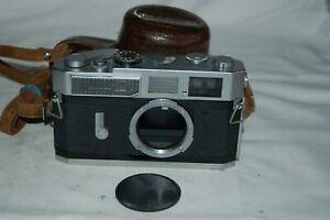 Canon-7 Vintage 1965 Japanese Rangefinder Camera. Serviced. No.839067. UK Sale