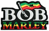 Bob Marley Rasta-Fari Reggae Flagge Jamaika Aufnäher Bügelbild Aufbügler Patch