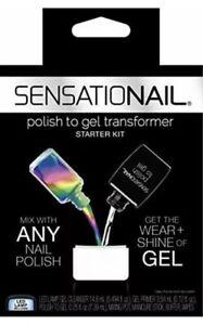 Sensationail Polish to Gel Nail Transformer Starter Kit LED Lamp