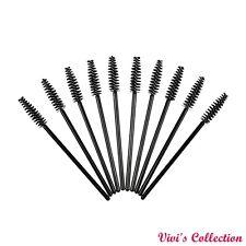 Disposable Eyelash Brushes Mascara Wands Lash Extension Applicator Spoolers UK