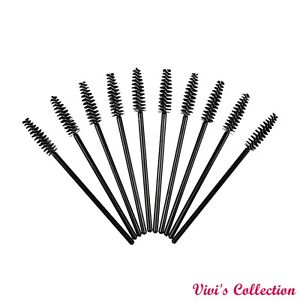 Disposable Eyelash Brushes Mascara Wands Lash Extension Applicator Spoolers UK