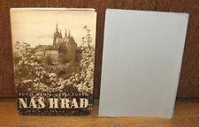 SIGNED Josef Sudek Nas Hrad Sepia Gravure Photographs Original 1948 ED Slipcase