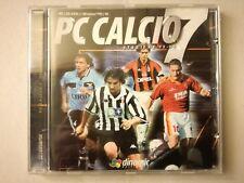 PC CALCIO 7 + LIBRETTO - PC FUNZIONANTE - VINTAGE - CALCIO MANAGERIALE 98 - 99
