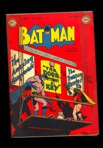 BATMAN 54 GOLDEN AGE 1949