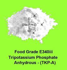 30g  Food Grade Tripotassium  phosphate anhydrous (TKP-A)  - E 340(iii)