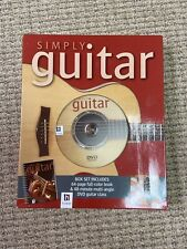 Simply Play Guitar Steve McKay Hinkler Books Instruction Dvd Class New