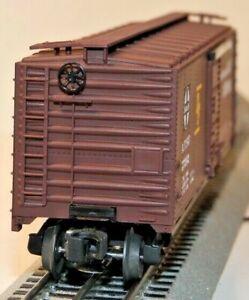 Lionel O, 6-17202, Santa Fe, Box Car with RailSounds, 17202, C-9, NIB        -dj