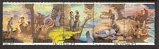 Fenimore Cooper, Paintings 1989 USSR used set Mi 6009-13