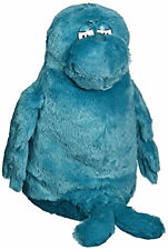 "Dr. Seuss Big Blue Fish Kohls Plush 12"" tall"
