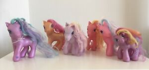 (CRD).  Bundle of 6 Hasbro G3 My Little Ponies
