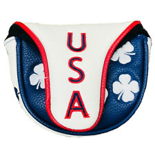2018 Black Clover Limited Edition All Over USA Mallet Putter Headcover NEW