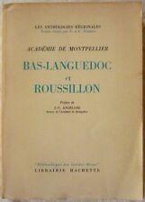 """""""Collectif"""" - Anthologies régionales - Bas-Languedoc, Roussillon (1958 - envoi)"""