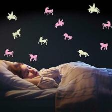 Glow-in-the-Dark Night Light Stickers: Dinosaurs or Unicorns