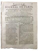 Canto Las Ardilla Zoología 1789 Rzarzinski Scheffer Raro Journal De París
