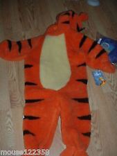 NEW Plush Disney Tigger tiger costume outfit  3T - 4 T